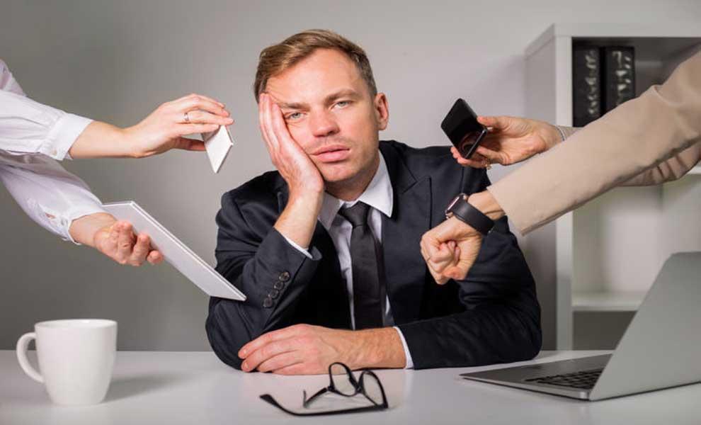 راهکارهایی برای مقابله با استرس شغلی